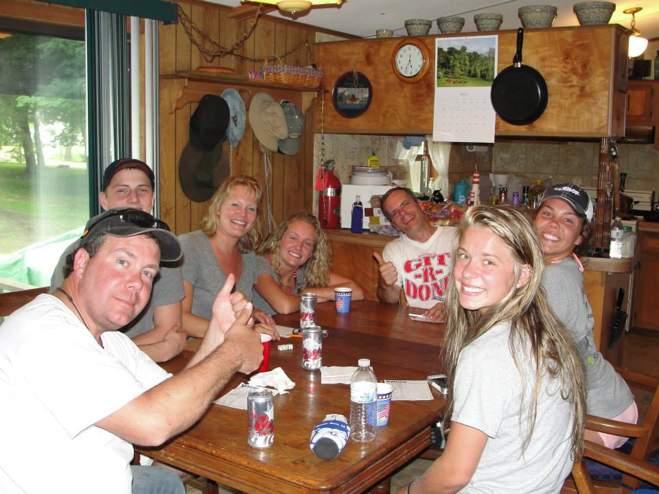 Cabin Family Table Games 2014