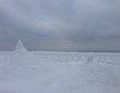 Leech Lake Freezing Over 2014 4 x 6
