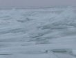 Leech Lake Freezing Over Ice Heaves 2014 4 x 6