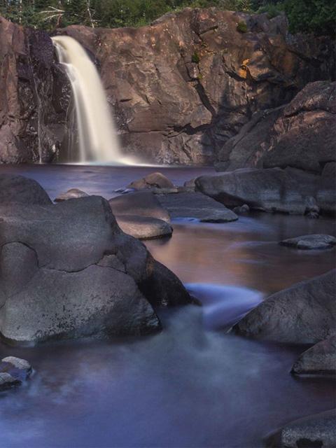 High Falls Baptism River 2014  4 x 6