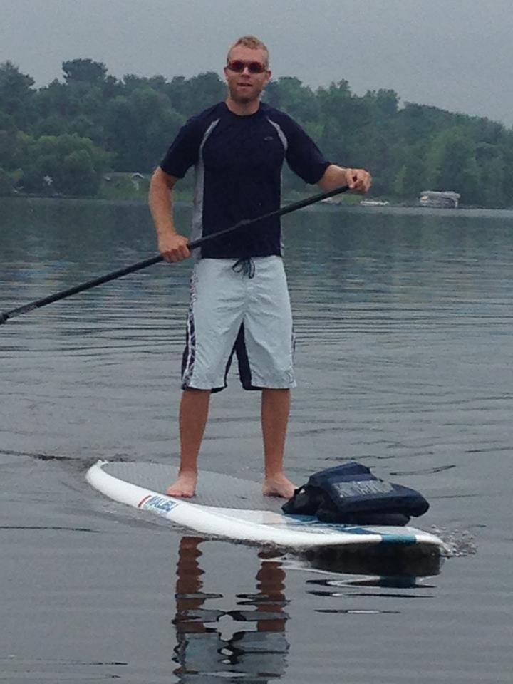 Mike & Alex SUP Boarding 2