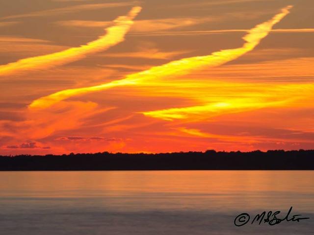 Sunset Leech Lake Fourth of July 2014 4 x 6