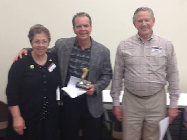 Mike Toastmasters Area Contest 2014 1st place