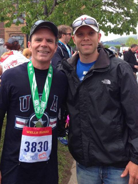 Alex & Mike Grandma's Marathon 4 x 6