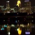 Thumbnail image for Minneapolis Skyline From The Broadway Bridge