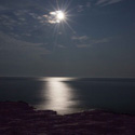 Thumbnail image for Full Moon Over Lake Superior & Split Rock Lighthouse
