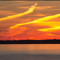 """Post image for Leech Lake Sunset """"Awesome"""" Cloud Formation"""