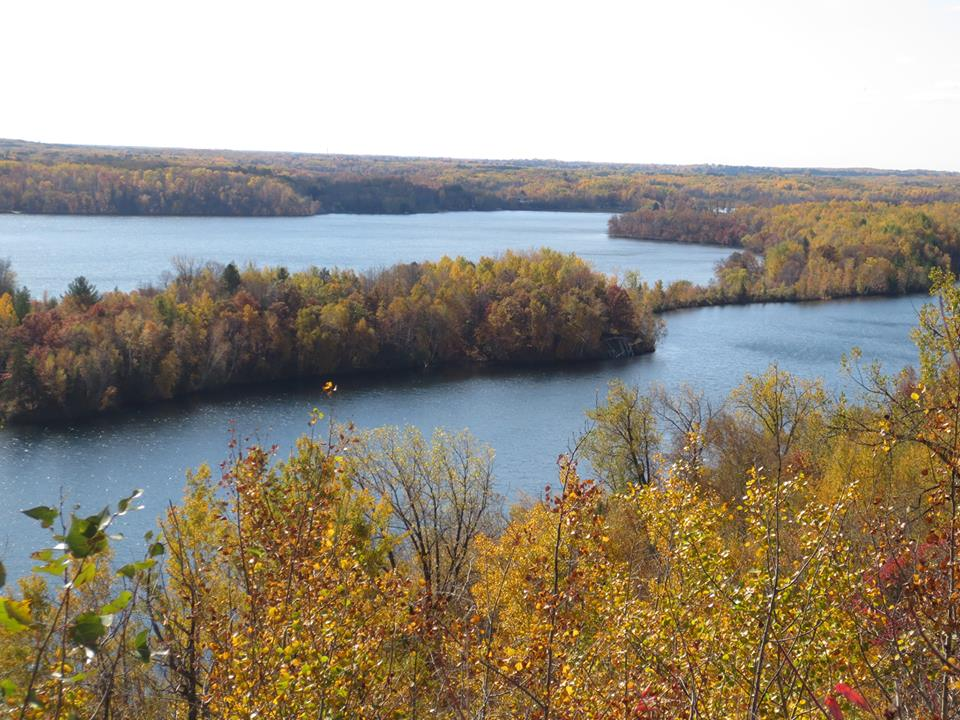 Fall colors in the Cuyuna MTB trail